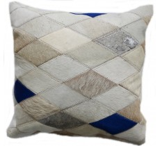 PI 161 Collection Quebecuir Premium Coussin Cowhide   Pillow