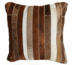 PI 162 Collection Quebecuir Premium Coussin Cowhide   Pillow