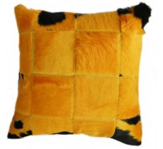 PI 164 Collection Quebecuir Premium Coussin Cowhide   Pillow