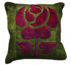 PI 165 Collection Quebecuir Premium Coussin Cowhide   Pillow