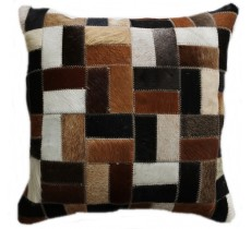PI 170 Collection Quebecuir Premium Coussin Cowhide   Pillow