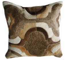 PI 172 Collection Quebecuir Premium Coussin Cowhide   Pillow