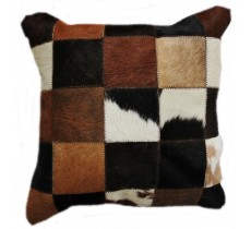 PI 175 Collection Quebecuir Premium Coussin Cowhide   Pillow