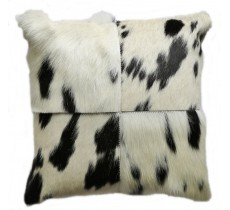 PI 184 Collection Quebecuir Premium Coussin Cowhide   Pillow