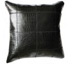 PI 187 Collection Quebecuir Premium Coussin Cowhide   Pillow