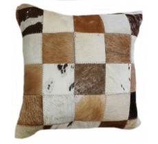 PI 470 Collection Quebecuir Premium Coussin Cowhide   Pillow