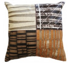 PI 471 Collection Quebecuir Premium Coussin Cowhide   Pillow