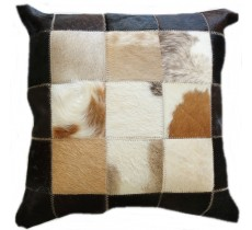 PI 472 Collection Quebecuir Premium Coussin Cowhide   Pillow