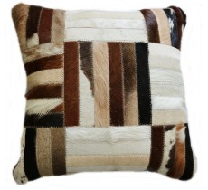 PI 473 Collection Quebecuir Premium Coussin Cowhide   Pillow