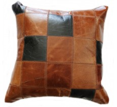PI 474 Collection Quebecuir Premium Coussin Cowhide   Pillow