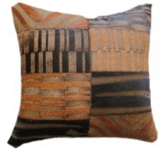 PI 475 Collection Quebecuir Premium Coussin Cowhide   Pillow