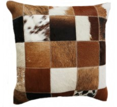 PI 892  Collection Quebecuir Premium Coussin Cowhide   Pillow